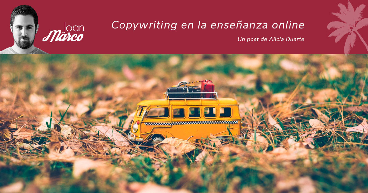 copywriting en la formación online