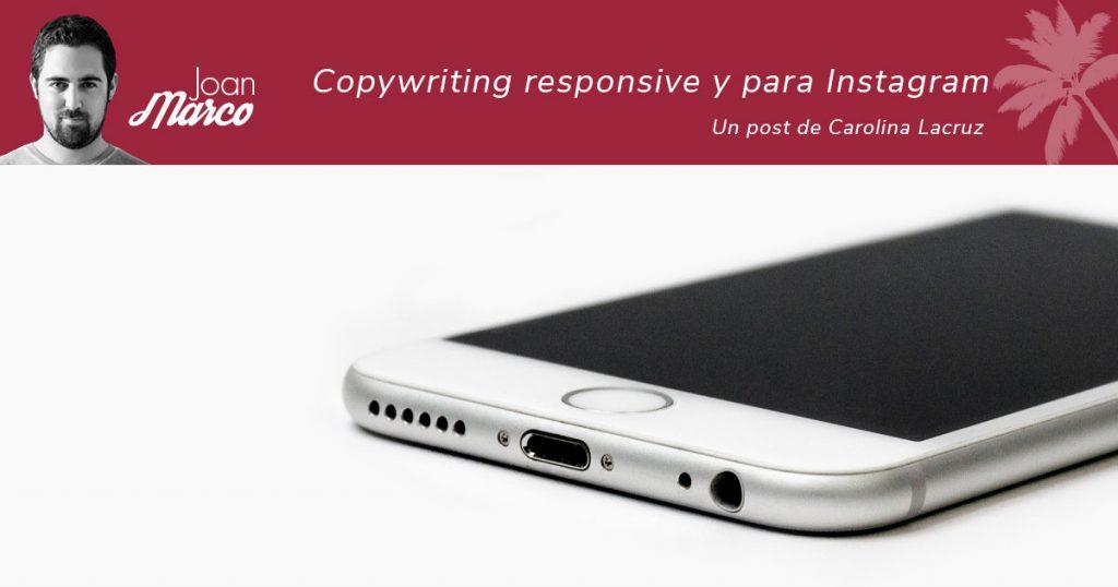 copywriting responsive y para Instagram