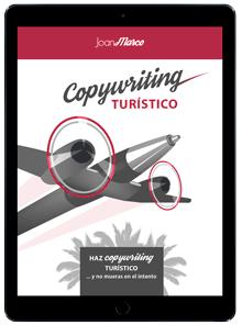Ebook copywriting turístico - portada pequeña