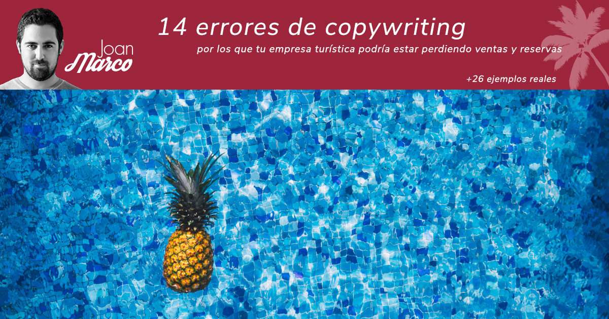 Errores de copywriting turístico