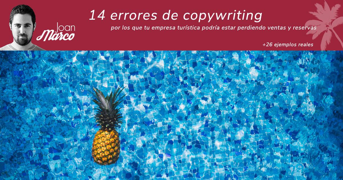 Errores de copywriting turístico