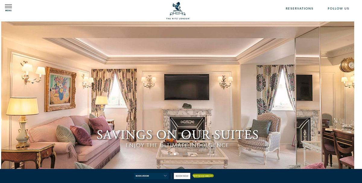 Copywriting para hoteles: Ritz
