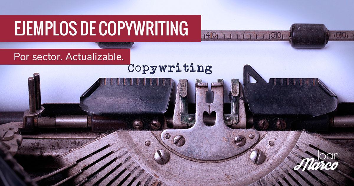 Ejemplos de copywriting