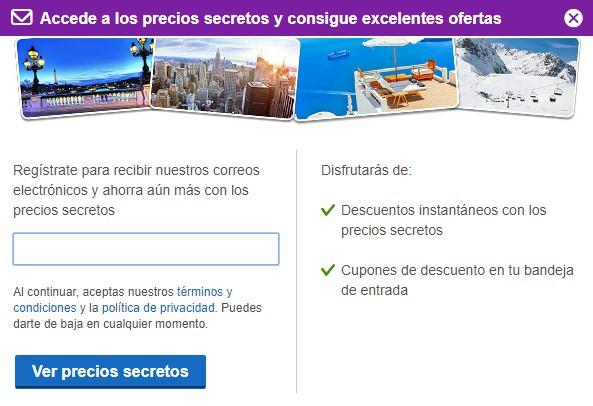 Captación de leads en Hoteles.com