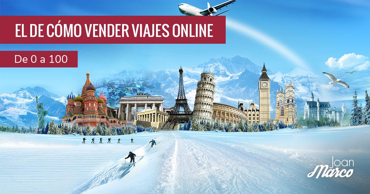 Cómo vender viajes online