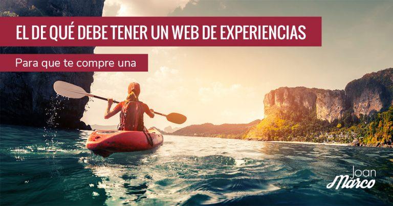 Cómo vender experiencias