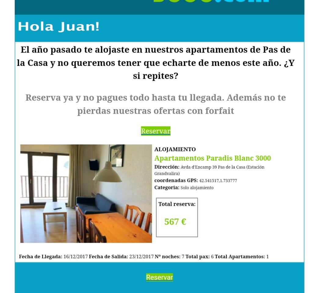 Email marketing de fidelización
