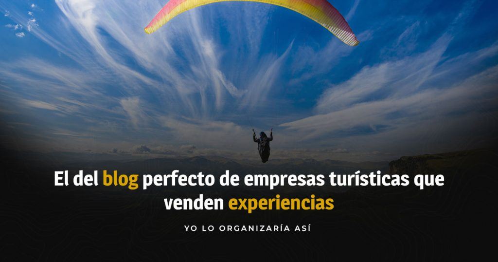 Blog de experiencias