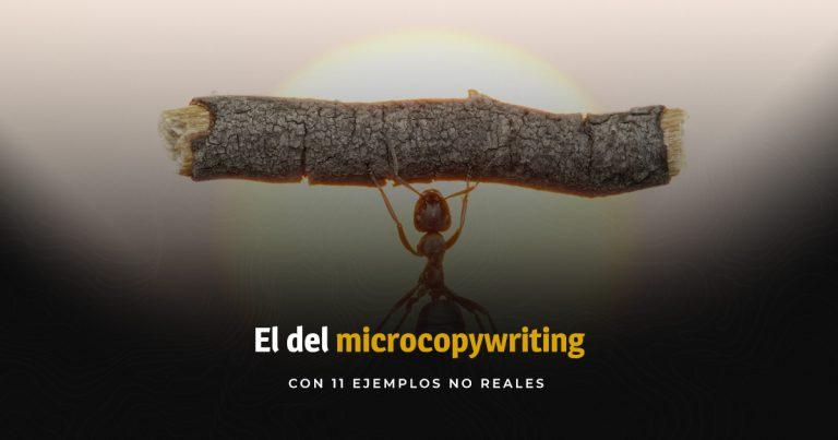 Microcopy turístico