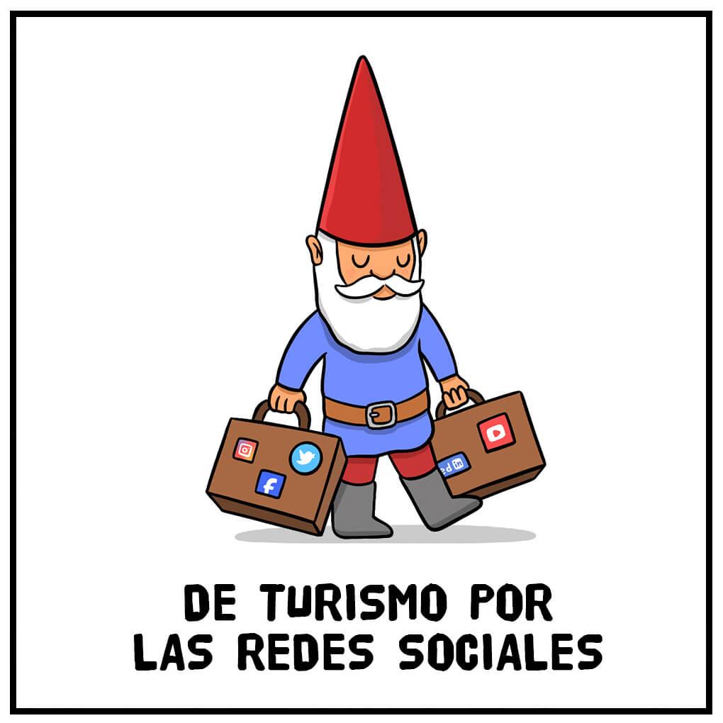 De turismo por las redes sociales